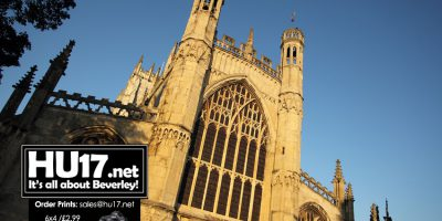 The Culture Train Will Be Rolling Into St Mary's Church In Beverley On Saturday