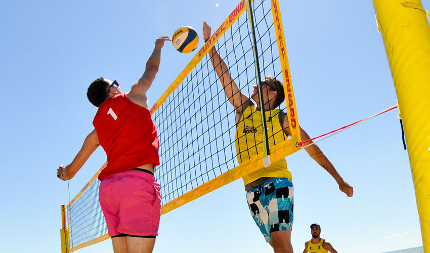 Bridlington Recognised As A National Beach Volleyball Hub