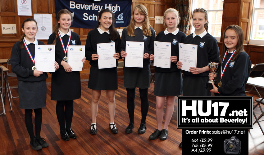 Beverley High School Excel In Language Competition