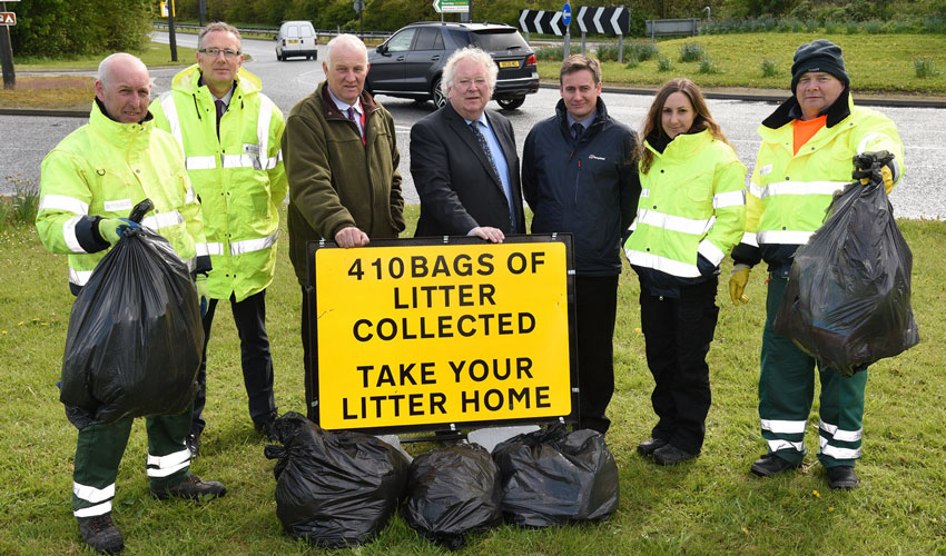 Council Take Measures To Tackle;e Road Side Littering