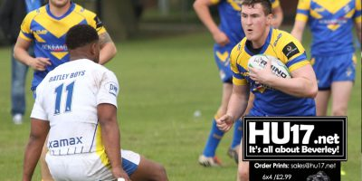 Blue & Golds Will Go West This Saturday To Take On Batley Boys
