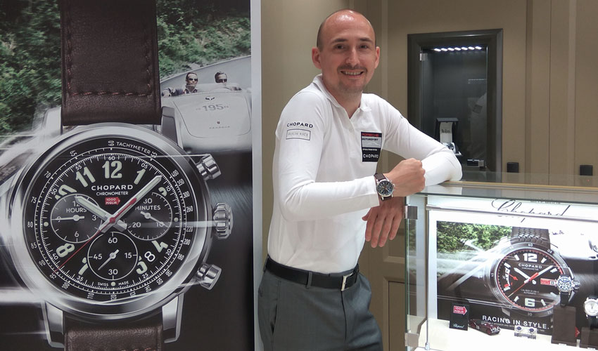 Hugh Rice Jewellers Gets Into The Classic Car Show Spirit