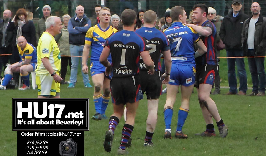 Blue & Golds Welcome North Hull Knights To Leisure Centre