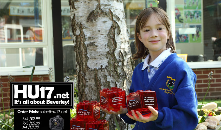 School Pupils Step Up To Beverley Building Society Red Box Challenge