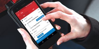 Bus Company Travel App Achieves 5 Star App Store Rating