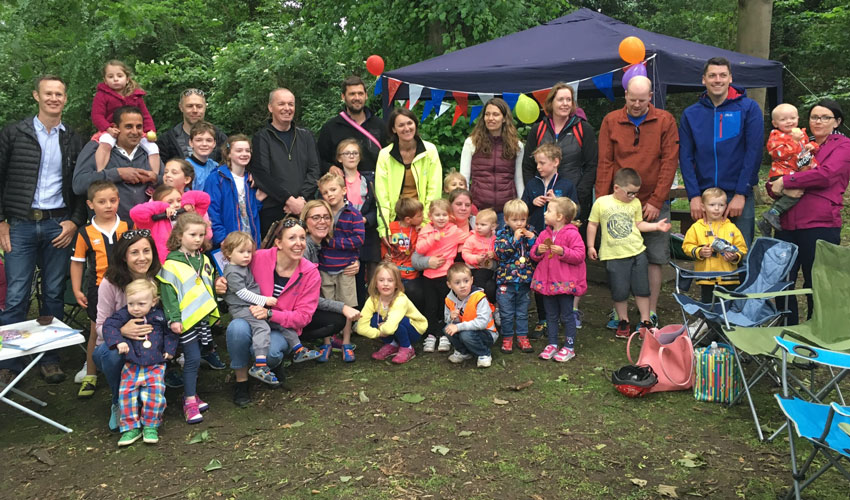 On Your Bike : Cherry Burton Pre-School Families Cycle Humber Bridge