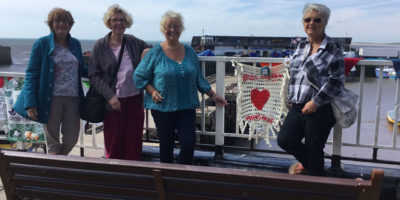 Fishy Goings On As Heritage Of Bridlington Quay Celebrated By Yarn Bombers