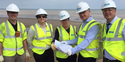 Graham Stuart MP Visits 'Improved' Hollym Water Treatment Works Proposed Site