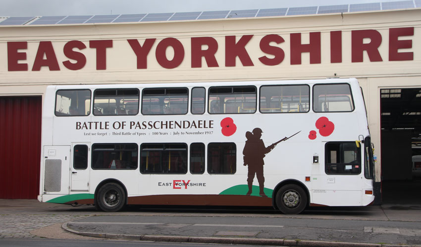 EYMS Poppy Bus Now In Its Fourth Incarnation