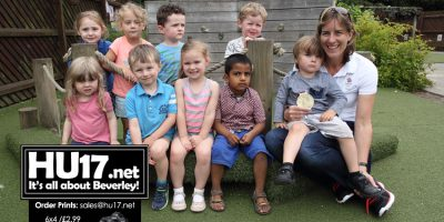 Team GB's Most Decorated Female Olympian Visits Busy Bees Nursery