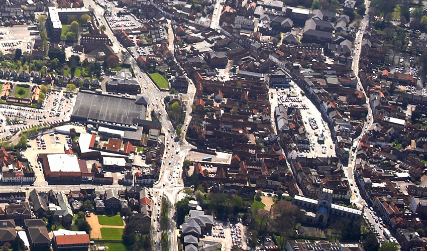 Glimpses Of History From Above - Exhibition Looks Down On Beverley