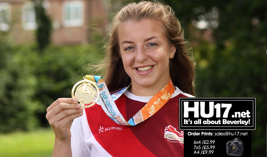 Bentham Wins Gold For Team England At Commonwealth Games