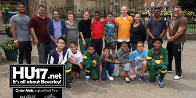 South African Footballers Visit Iconic Beverley Landmark