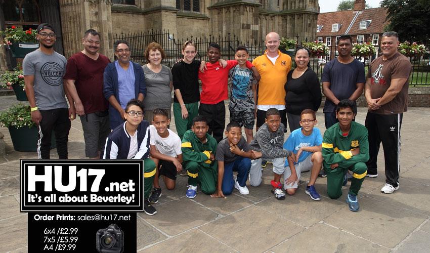 South African Footballers Visit Iconic Beverley Landmark