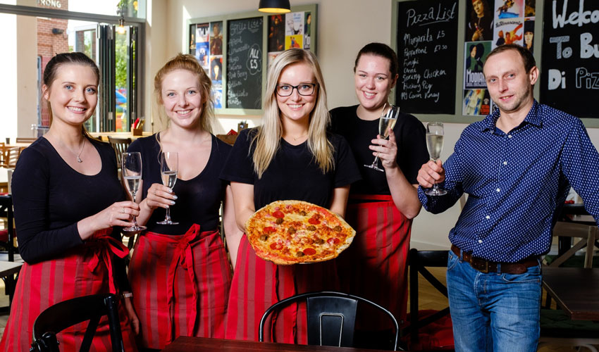 New Flavour For Flemingate As Buca Di Pizza Opens