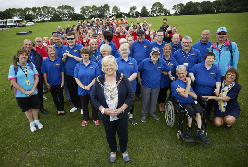 Olympic Legacy Celebrated At Sports Event