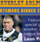 Beverley ARLC Present An Evening With Leon Pryce