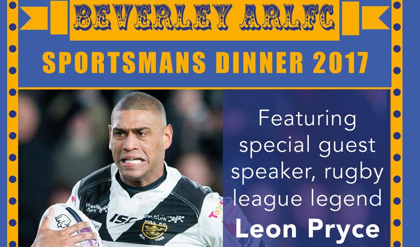 Beverley ARLC Present An Evening With Leon Pryce