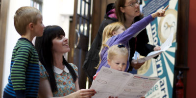 Mysterious Children's Trail In The Treasure House This Summer