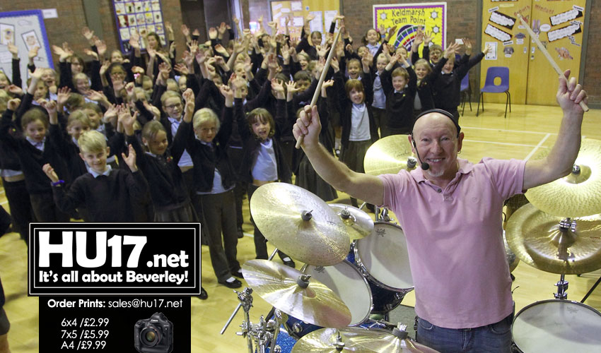 A Drumming Master Class With Jeff Rich @ Keldmarsh Primary School
