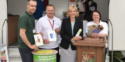 Recycling Officers Out And About During National Recycle Week