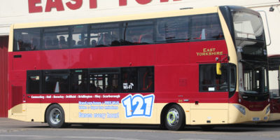 New Buses With Wi-Fi For EYMS Routes To Hull Scarborough And York