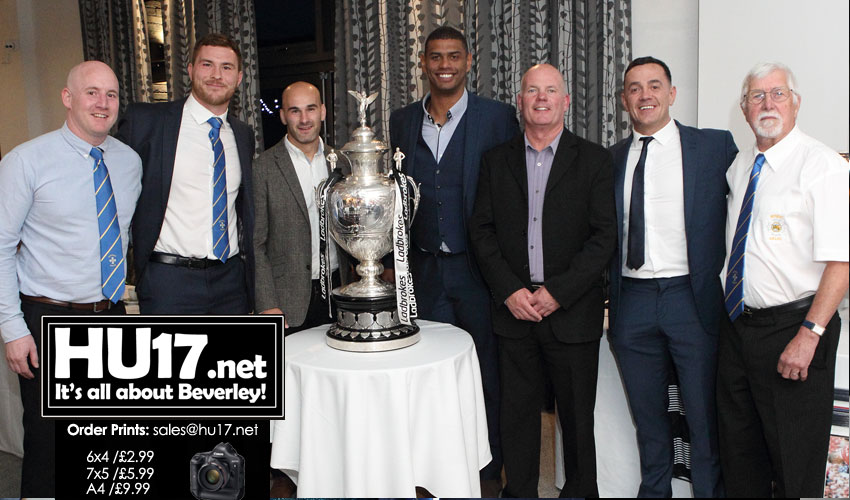 OUT & ABOUT : Blue & Golds Sportsman's Dinner @ Lazaat
