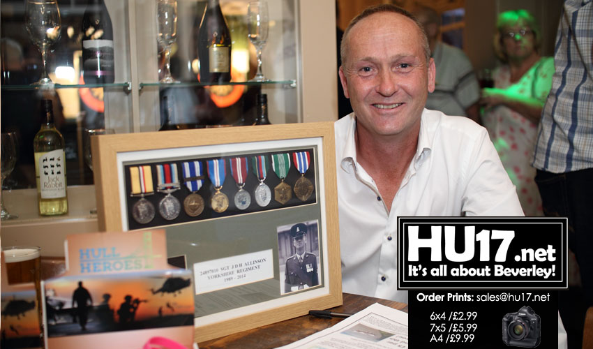 Dan Allinson Darts Night Raises Over £1,000 For Hull4Heroes