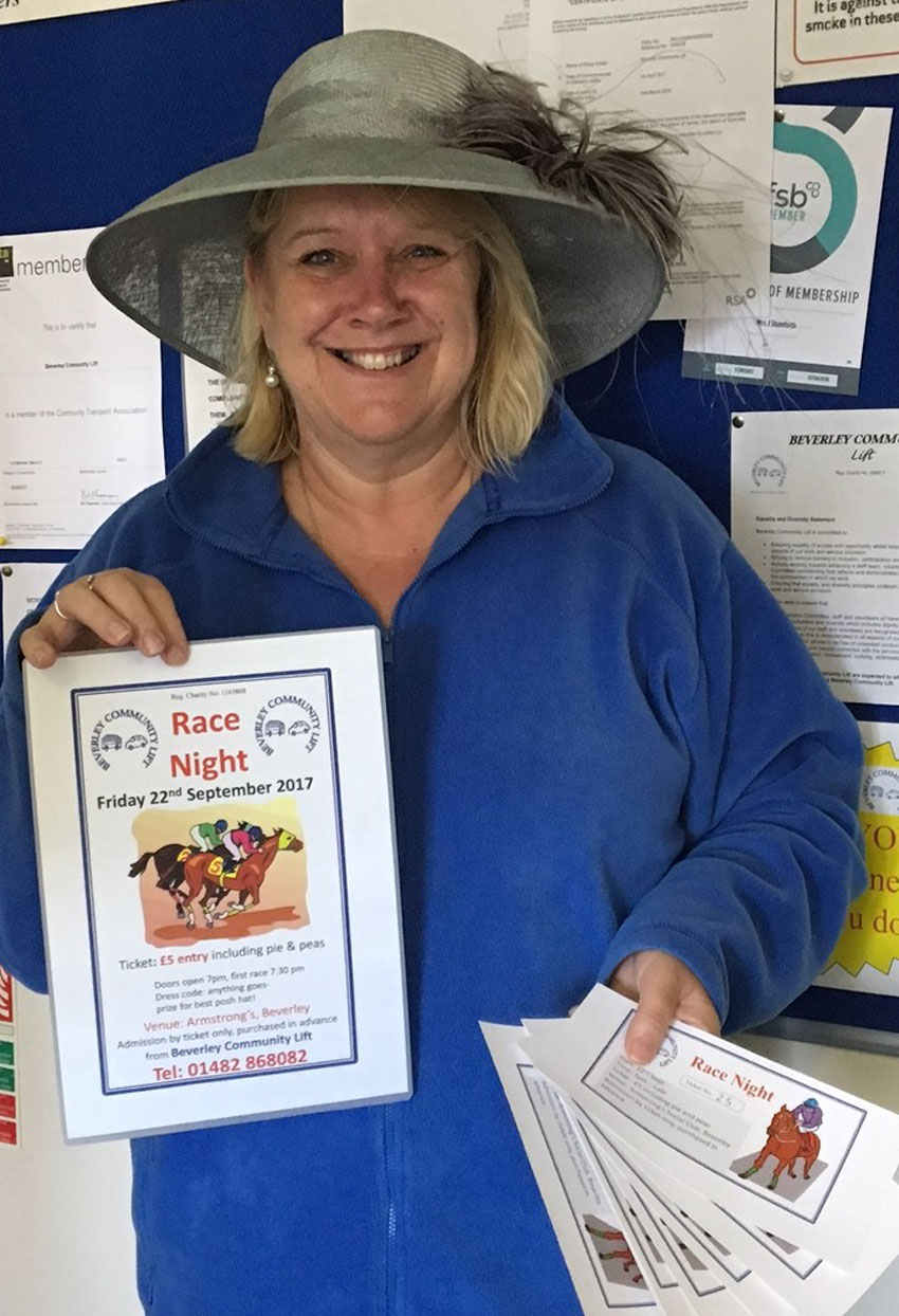 Gee-Up And Get Set For A Great Fun-Raising Night For Local Charity