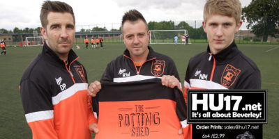 The Potting Shed Invest In Hodgsons FC On and Off The Field