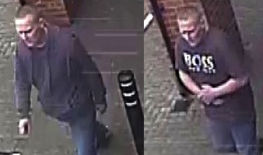 CCTV Images - Can You Identify This Man?