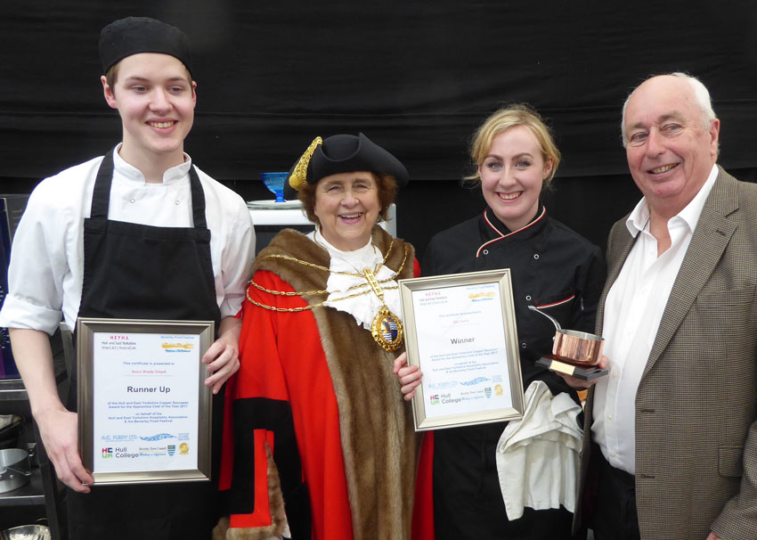 Ellie Tuttle First Lady To Win Copper Saucepan Competition