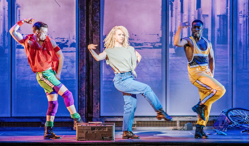 Joanne Clifton To Continue In Flashdance; Heading To Bridlington Spa