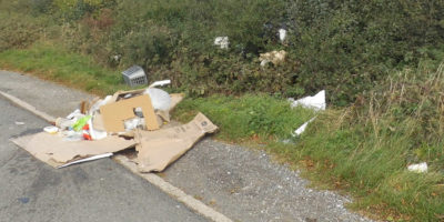 Unnamed Man Fined For Dumping Rubbish In Bishop Burton