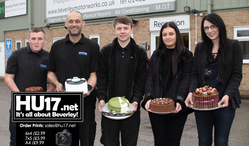 Garage Staff Swap Spanners For Spatulas As They Host Bake Off Comp