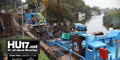 Removal Of Sunken Vessels From The River Hull Completed