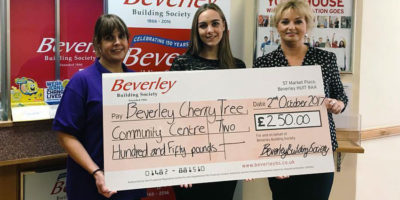 Beverley Cherry Tree Community Centre Are Society's Charity Of The Month