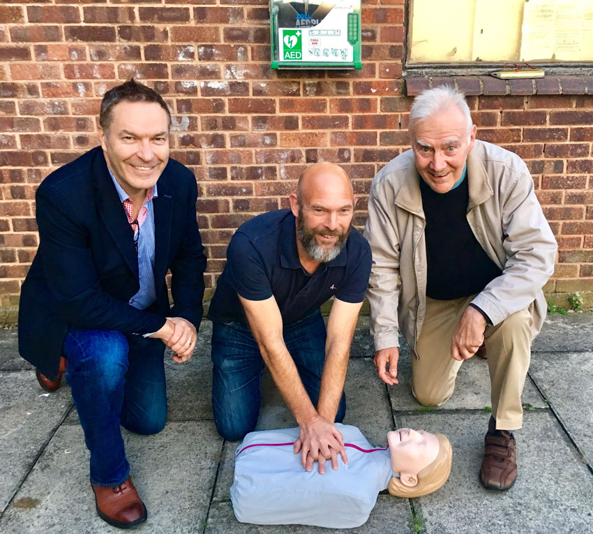 Vital First Aid Training Delivered To East Riding Villagers