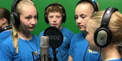 Performing Arts School Opens A New Recording And Green Screen Studio