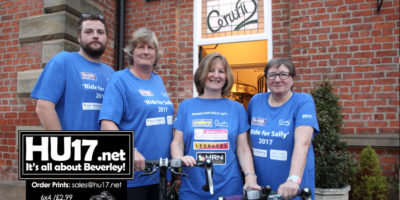 Team Sally Issues Rallying Cry For Help To Surpass £25k Target