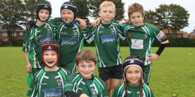 RUGBY UNION : Seaside Success For Beverley Beavers U9s