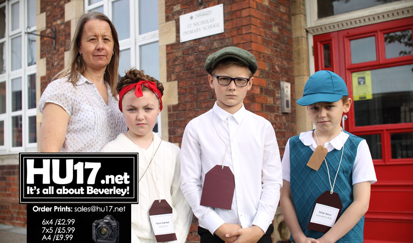 PHOTOS : World War II Day @ St Nicholas Primary School