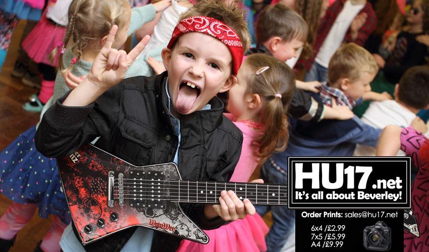 CHILDREN IN NEED : Cherry Burton School Rock The 80s
