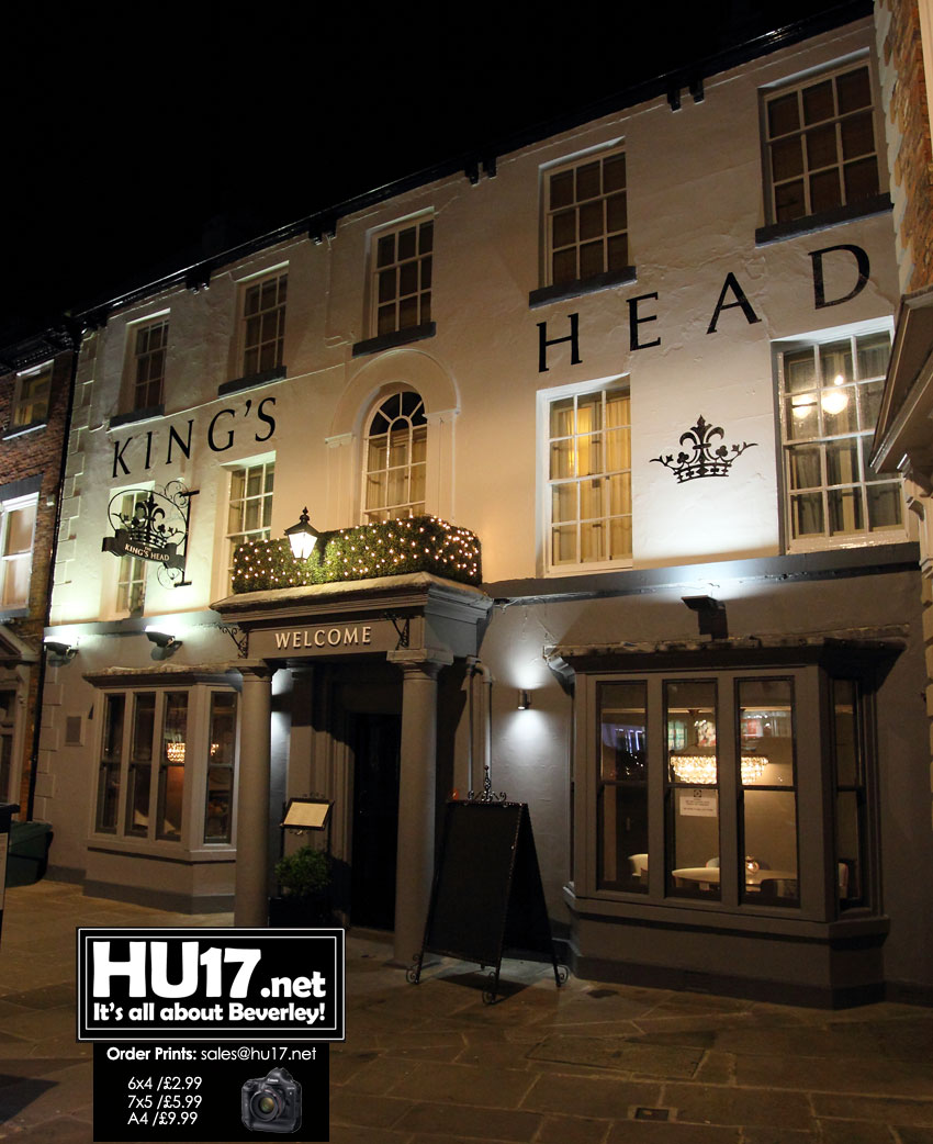 Kings Head Hotel Re-Opens Following £100,000 Investment