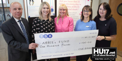 TSB Beverley Welcomes Abbie's Fund As New Local Charity Partner
