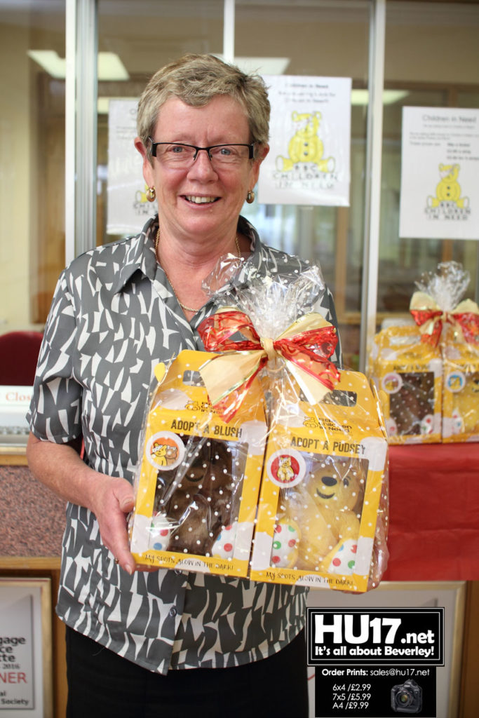 Win Your Very Own Pudsey Bear At Beverley Building Society