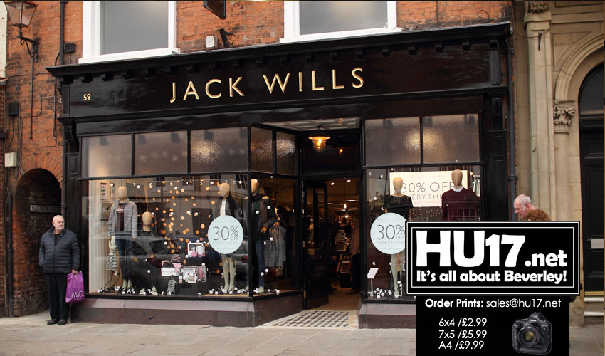 Jack Wills Open Their New Beverley Town Centre Store
