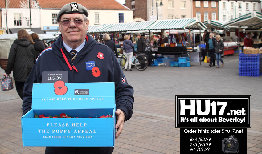 Appeal Organiser Says Beverley is a Poppy Friendly Town