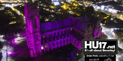 GALLERY : Light it Purple – Purple Lights UK @ Beverley Minster
