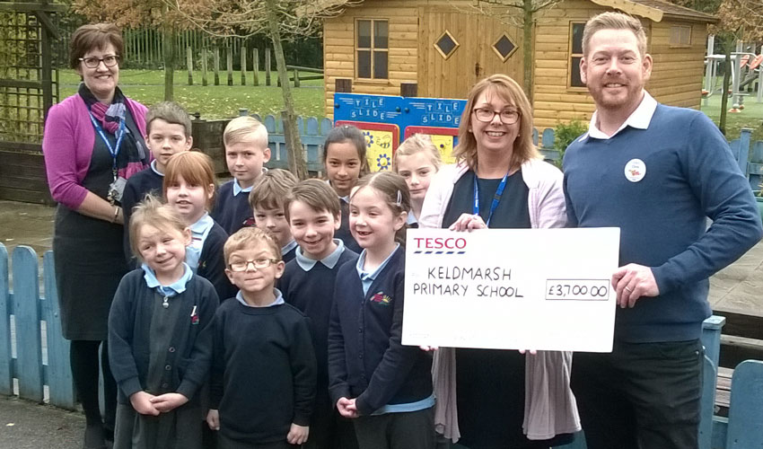 Keldmarsh Primary School 'Bag' Over Three Thousand Pounds
